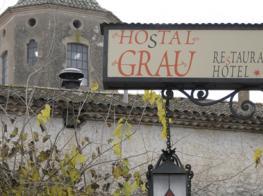 hostal grau santes creus, restaurant