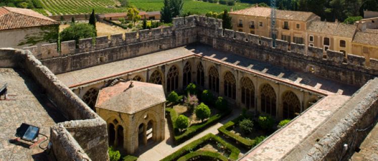 Entrada conjunta de los monasterios de La Ruta del Cister