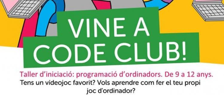 Code Club en la Biblioteca de Agramunt