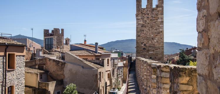 Visita a la muralla i pas de ronda de Montblanc