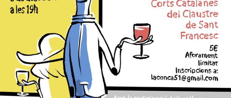 Beure i veure: Tast de vins amb Oriol Malet a Montblanc
