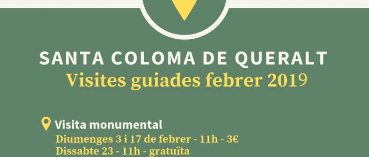 Visites guiades a Santa Coloma de Queralt - Febrer de 2019