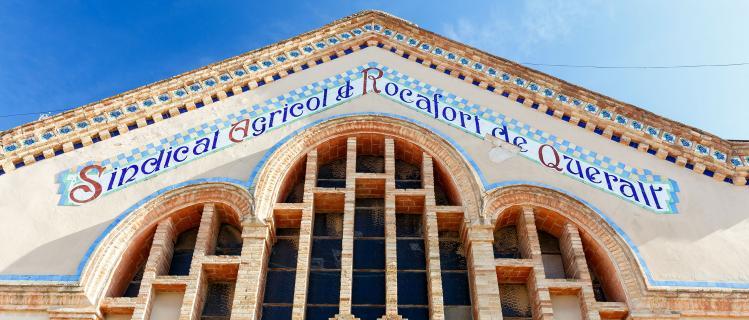 Celler modernista de Rocafort de Queralt