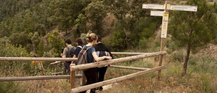 El itinerario de La Ruta del Cister, GR175