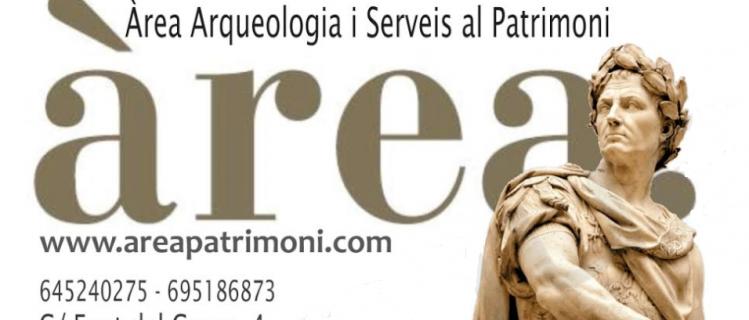 ÀREA. ÀREA ARQUEOLOGIA I SERVEIS AL PATRIMONI