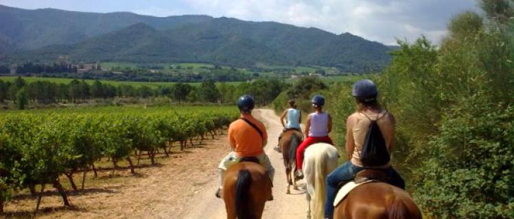 Hípica Francolí. Excursions a cavall.