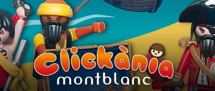 Clickània. Festival de clicks de Playmobil en Montblanc