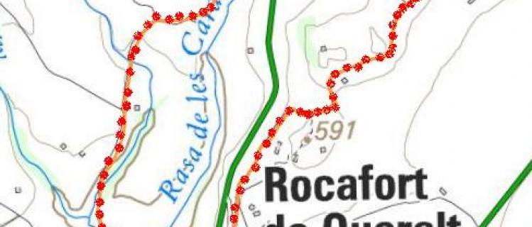 Camí de l'aigua - Rasa de les Carduelles i els pous de ROCAFORT DE QUERALT