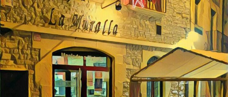 Bar La Muralla a Verdú