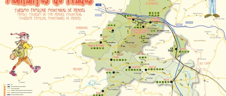 Turisme familiar a les Muntanyes de Prades