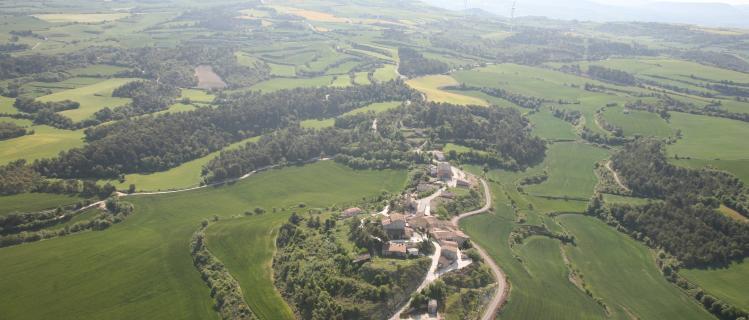 La vall del  Corb
