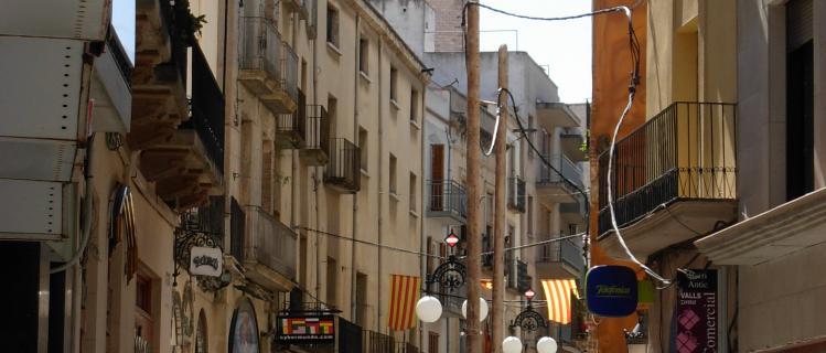 Route des personnes célèbres de Valls