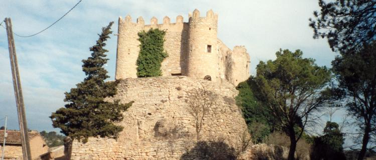 Camí a la relliscada de Sant Miquel de Montclar des de BIURE DE GAIÀ (Les Piles)