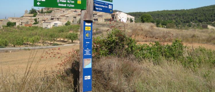 Camí de Sant Jaume a l'Urgell
