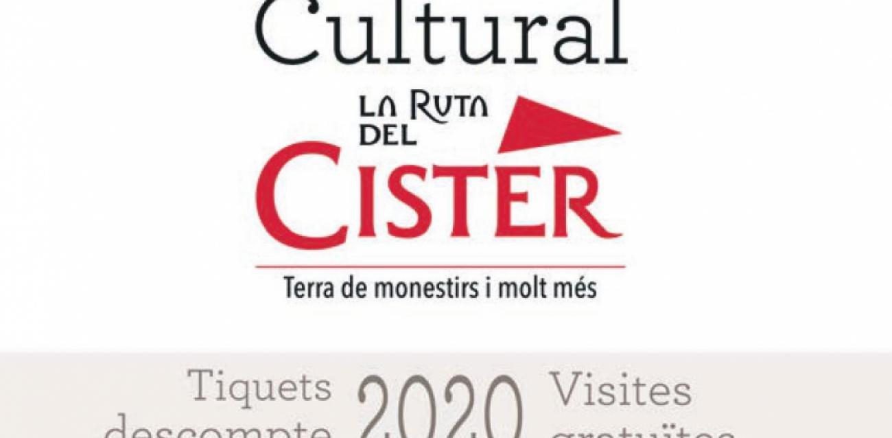 Bon Culturel de La Ruta del Cister 2020