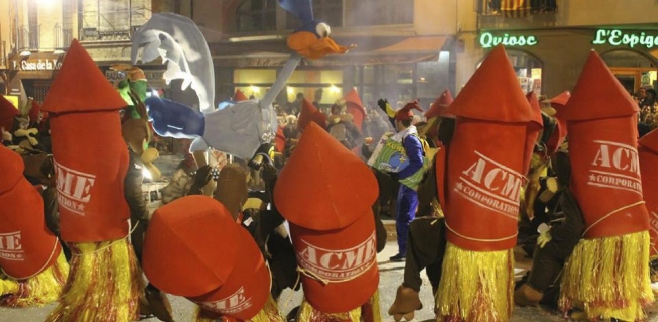 Fiestas de carnaval en l'Urgell